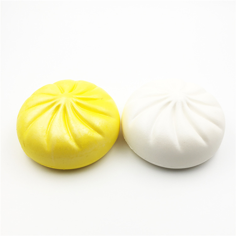 High Quality Soft Slow Rising Steamed Stuffed Bun Food Squishy Toys