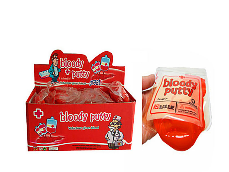 Halloween Decoration Blood Putty Red Slime Toy