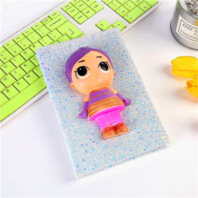 DIY 3D Squishy Sticker Notebook PU Foam Stress Relief Squishies